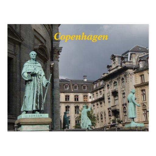 Cartão de Copenhaga Cartoes Postais