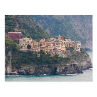 Cartão de Corniglia, Cinque Terre, Italia