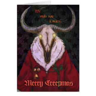 Cartão de Creepmas