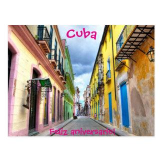 Cartão de Cuba