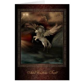 Cartão de cumprimentos da arte da fantasia de