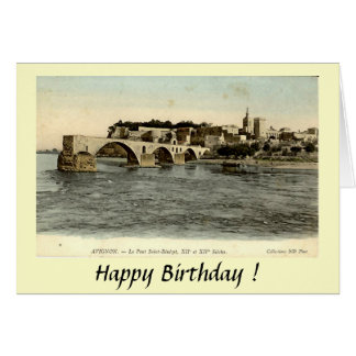 Cartão de cumprimentos - d'Avignon de Le Pont