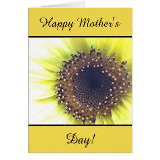Cartão de cumprimentos do dia das mães