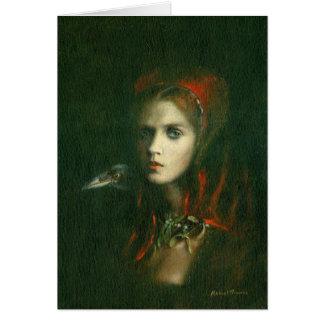 Cartão de cumprimentos gótico da bruxa