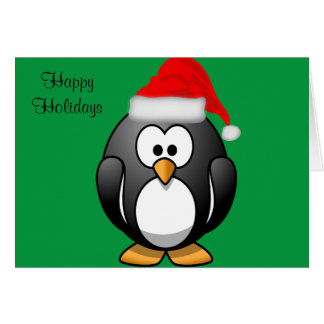 Cartão de Cutie do pássaro boas festas