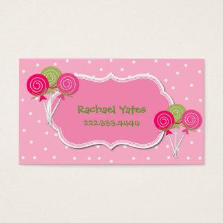 Cartão de data cor-de-rosa e verde do jogo de