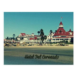 Cartão de Del Coronado do hotel