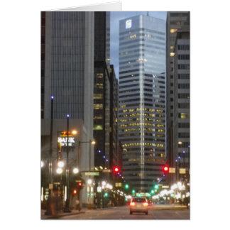 Cartão de Denver Colorado