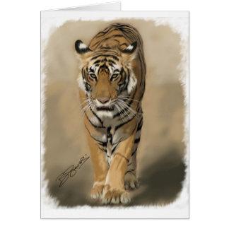 Cartão de desengaço do Tigress