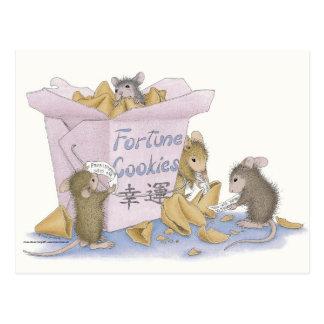 Cartão de Designs® do Casa-Rato Cartão Postal
