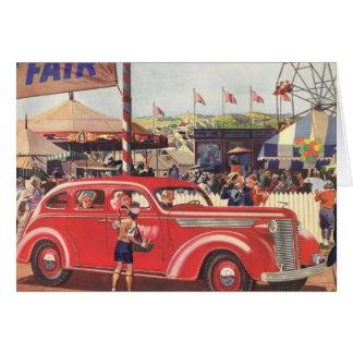 cartão de Desoto dos anos 40