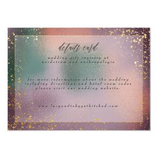 cartão de detalhes painterly