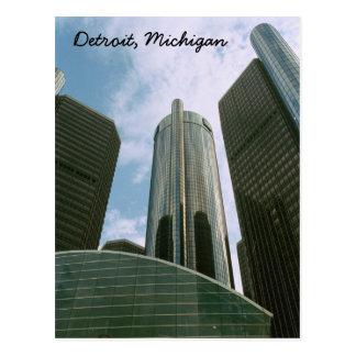 Cartão de Detroit MI
