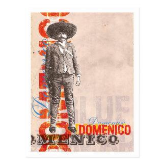 Cartão de Domenico