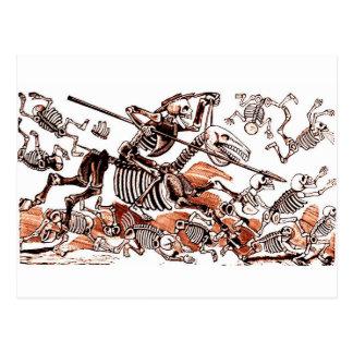Cartão de Don Quijote Calavera