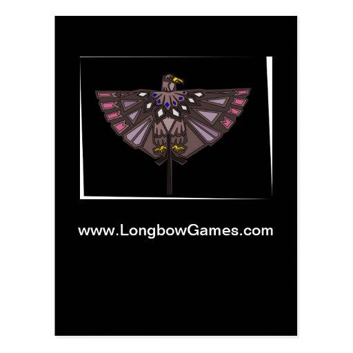 Cartão de Eagle Cartões Postais