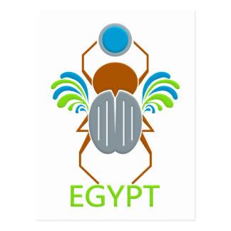 Cartão de EGIPTO