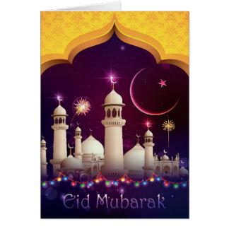 Cartão de Eid Mubarak - 001
