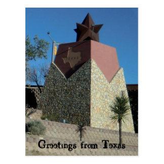 Cartão de El Paso Texas