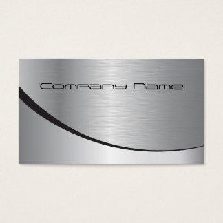 Cartão de empresa de prata