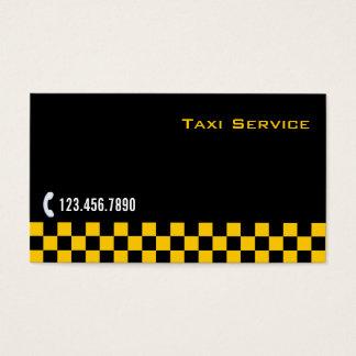 Cartão de empresa de serviços Checkered do
