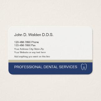 Cartão de empresa de serviços dental