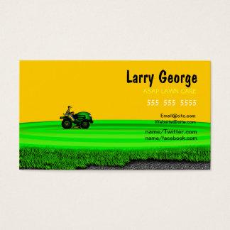 Cartão de empresa de serviços do cuidado do