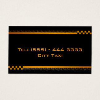 Cartão de empresa de serviços preto simples do
