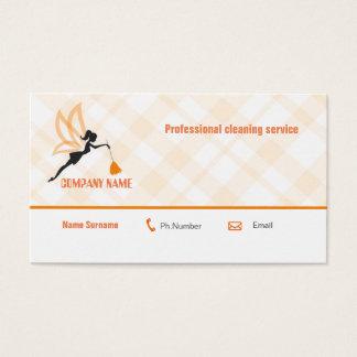 Cartão de empresa de serviços profissional da
