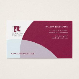 Cartão de empresa: Marrom