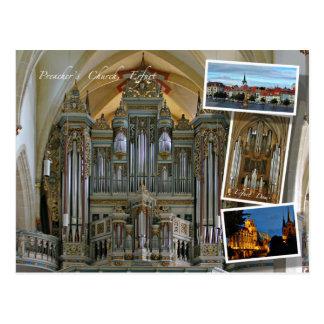 Cartão de Erfurt e de órgãos