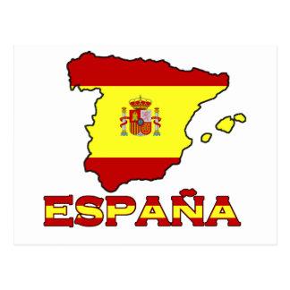 Cartão de España Cartão Postal