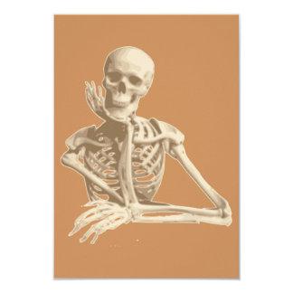 cartão de esqueleto