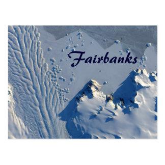 Cartão de Fairbanks Alaska