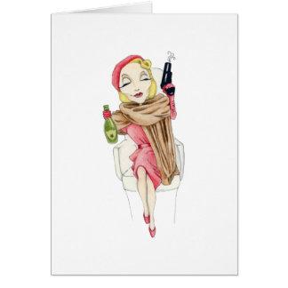 Cartão de Femme Fatale