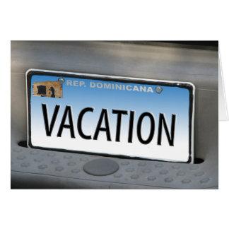 Cartão de férias
