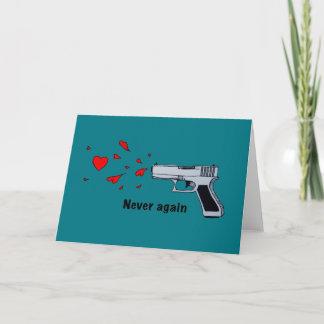 Cartão De Festividades nunca outra vez
