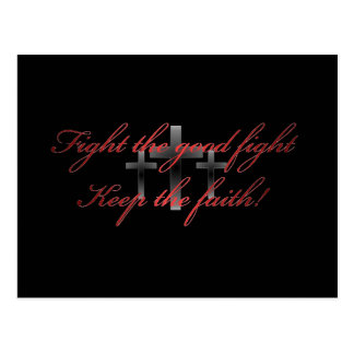Cartão de Fightgoodfightblack