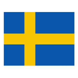 Cartão de Flah da suecia