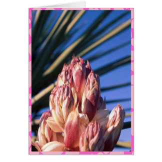 Cartão de florescência do dia dos namorados da