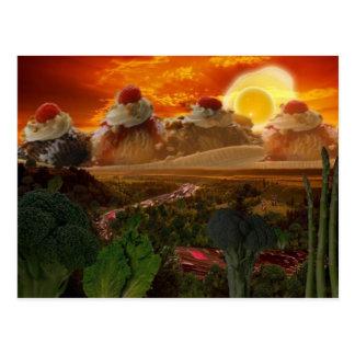 Cartão de Foodscape