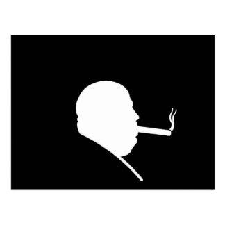 Cartão de fumo do gângster