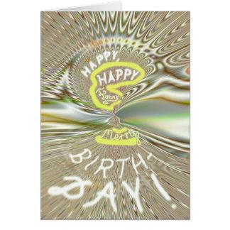 cartão de Funky-aniversário