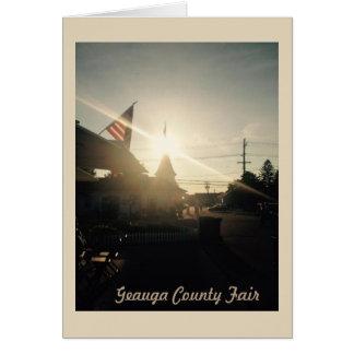 Cartão de Geauga County justo, Ohio