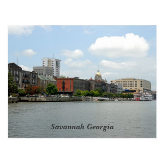 Cartão de Geórgia do savana