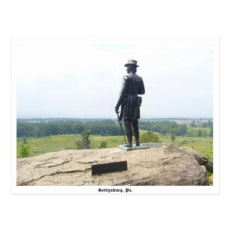 Cartão de Gettysburg