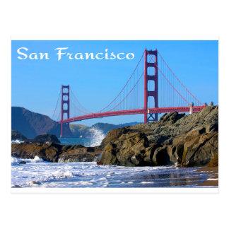 Cartão de golden gate bridge San Francisco CA