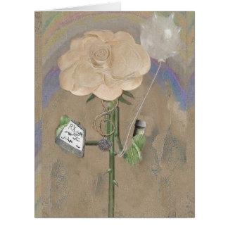 Cartão de Grande de Rosegifts do doutor Aumentação