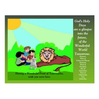 Cartão de Greating do banquete