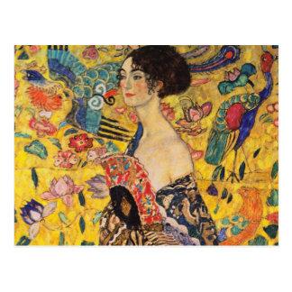 Cartão de Gustavo Klimt Cartão Postal